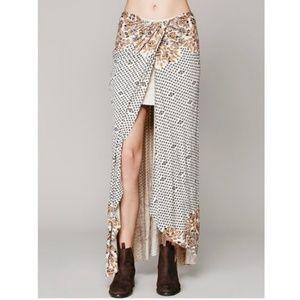 Free People Column Maxi Skirt